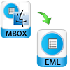 convert mbox file to eml