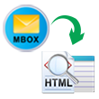 export mbox format to html