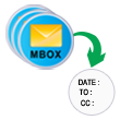 Sustain message feature in mbox to outlook
