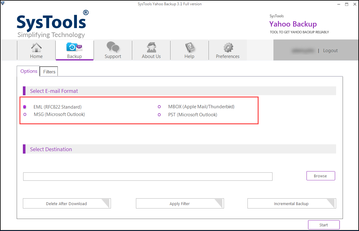 download yahoo email
