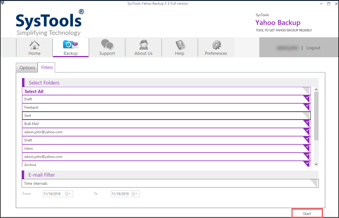 transfer yahoo mail to outlook
